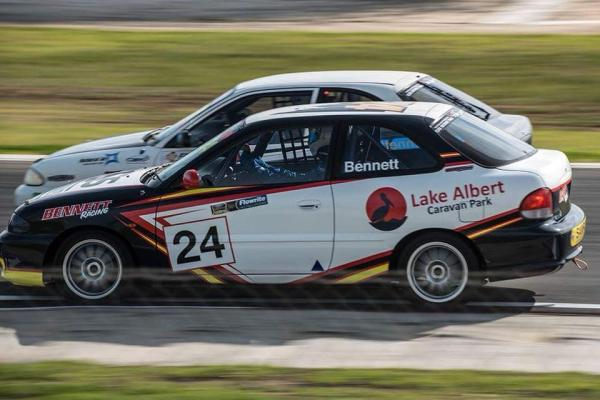 Hyundai Excel Car Racing The Bend Motorsport Park Coorong